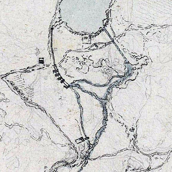 Entorno de Ruidera y laguna del Rey en 1781