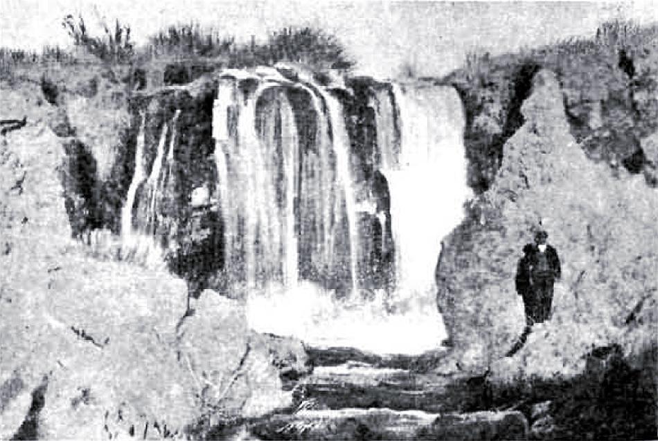 El Hundimiento de Ruidera en 1915