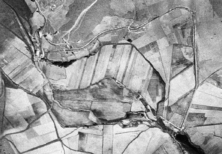 El canal de El Ossero en los años 1956-57