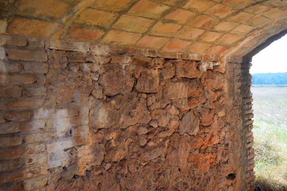 Interior del acueducto de El Ossero