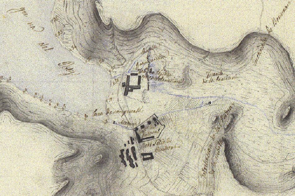 La acequia de Ruidera en 1852