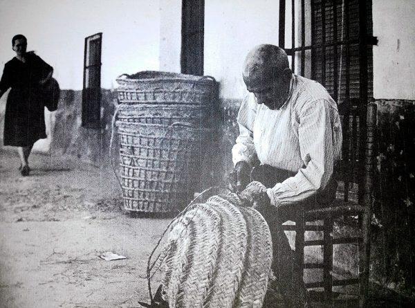 Trabajando el esparto en el Alto Guadiana