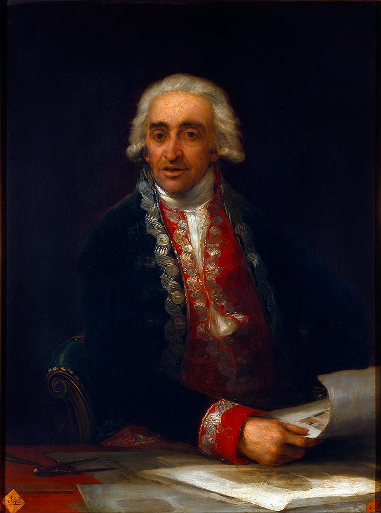 Juan de Villanueva por Francisco de Goya y Lucientes