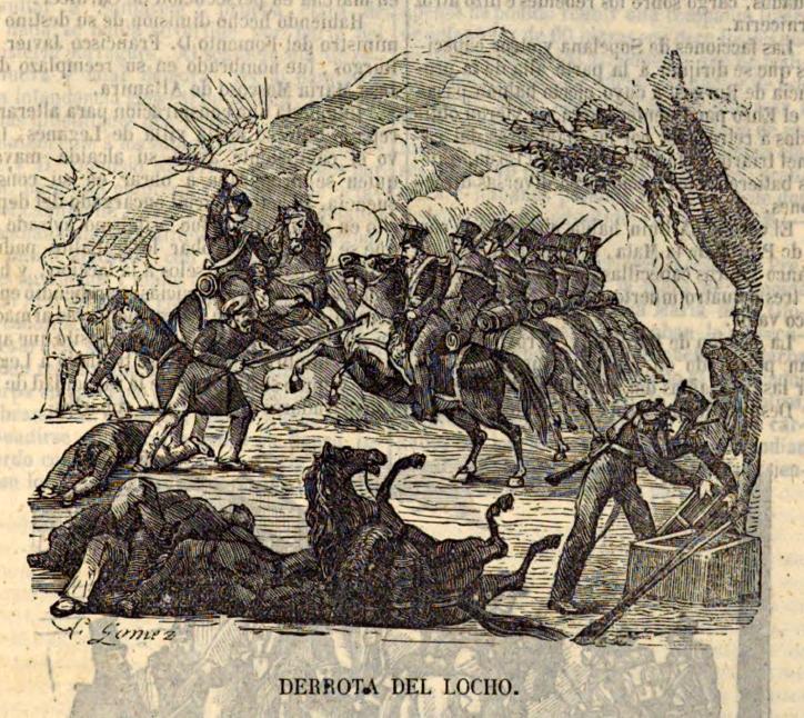 La Batalla de Ruidera, donde los isabelinos derrotaron a El Locho