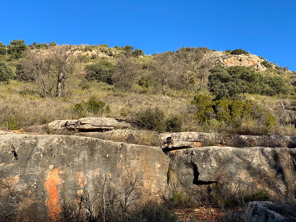 Cañada de la Loma de los Muertos, donde se desarrolló la batalla de Ruidera