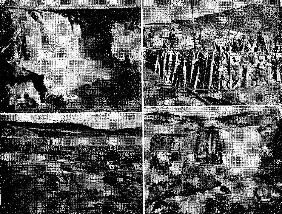 El reventón del Hundimiento de Ruidera ocurrido en marzo de 1947