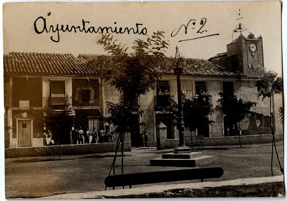 Casa de bastimento de Ossa de Montiel 1928