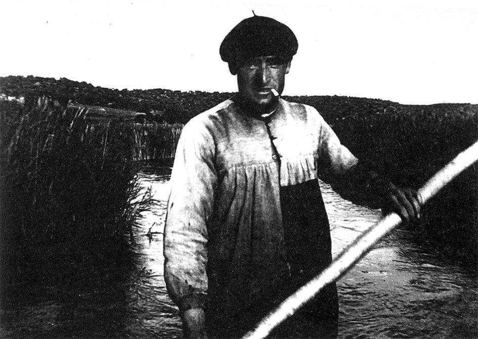 Demetrio el de Daimiel uno de los últimos pescadores de las Lagunas de Ruidera