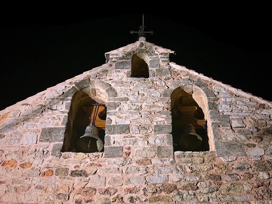 Estudio artístico de la Iglesia de Ossa de Montiel - campanario espadaña