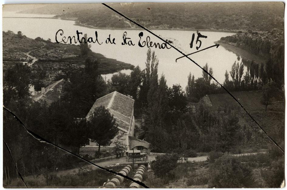 Central hidroeléctrica de Santa Elena 1928