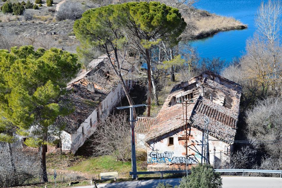 La central hidroeléctrica de Santa Elena en la actualidad