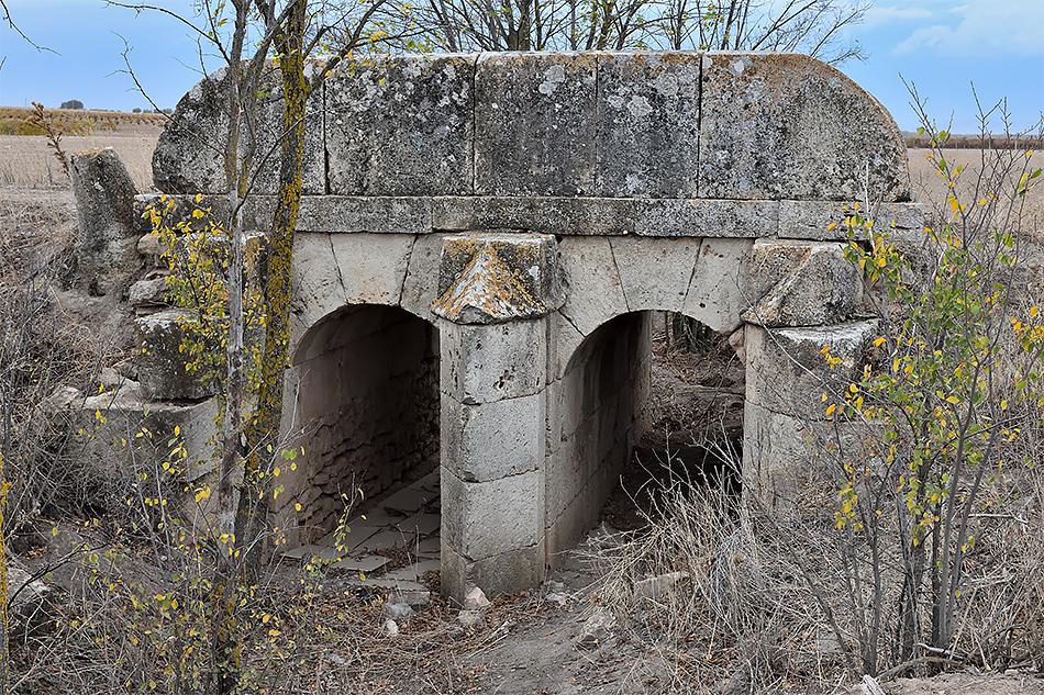 Puente de Vado Lancero, uno de los puentes de Alameda de Cervera
