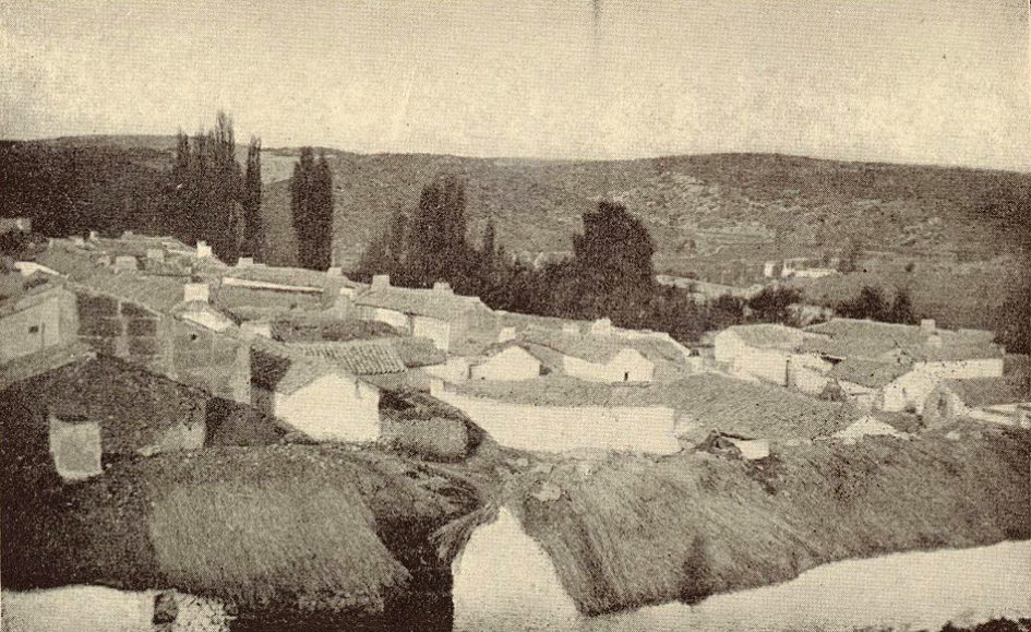 Aldea de Ruidera a principios del siglo XX