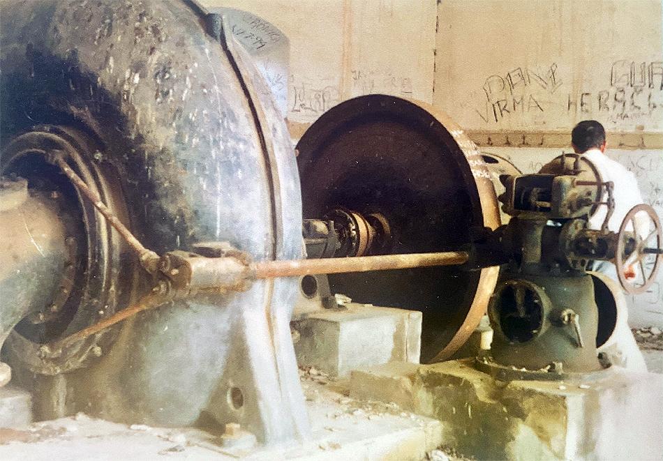 Maquinaria de el Osaero